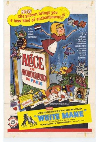 Alice of Wonderland in Paris Movie Poster (27 x 40 Inches - 69cm x 102cm) (1966) -(Norma MacMillan)(Howard Morris)(Carl Reiner)(Allen Swift)