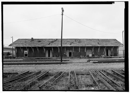 HistoricalFindings Photo: Memphis & Charleston Freight Depot,330 Church Street,Huntsville,Alabama,AL -