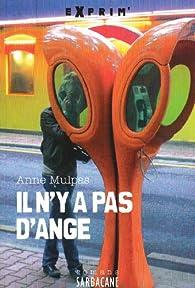 Il n'y a pas d'ange par Anne Mulpas