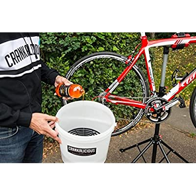 Crankalicious Unisex's CLMHB500 Bucket wash, Clear, 500ml: Sports & Outdoors