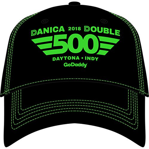 Cfs Danica Patrick Black 2018 Daytona 500 Adjustable Hat Godaddy Retirement