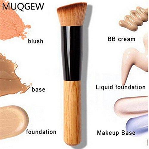 Anshinto Makeup Brushes, Powder Concealer Blush Liquid Foundation Make up (Taklon Comb)
