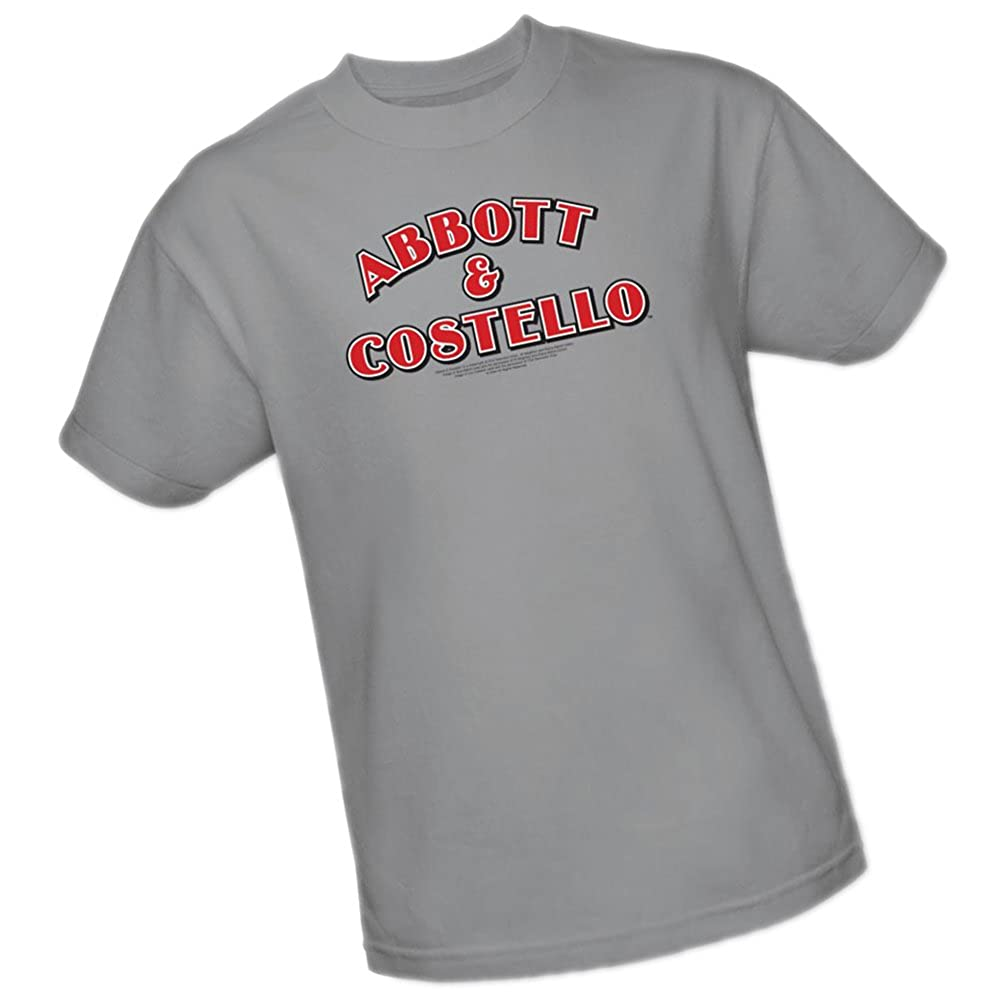 price reduced super cheap sneakers for cheap Amazon.com: Logo -- Abbott & Costello Adult T-Shirt: Clothing