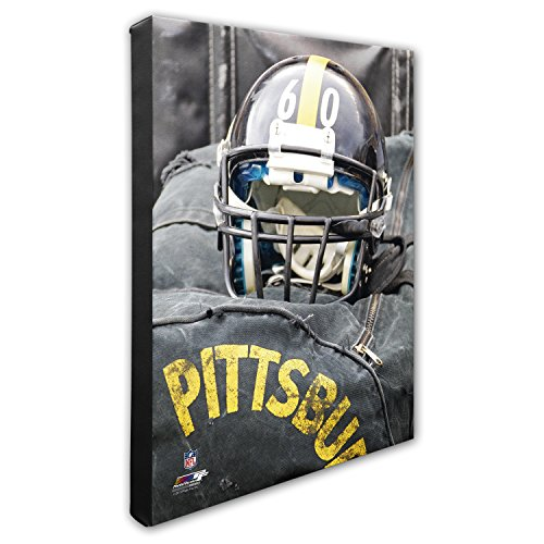 Photo File Pittsburgh Steelers Helmet - NFL Pittsburgh Steelers Beautiful Gallery Quality, High Resolution Canvas, 16
