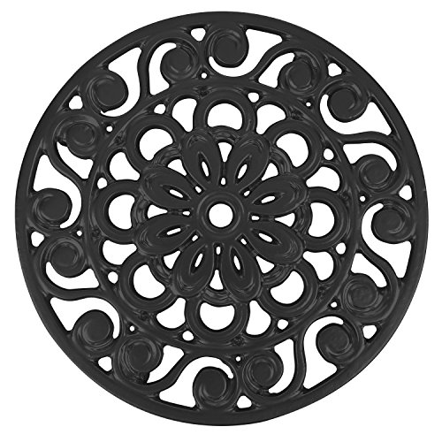 Trademark Innovations Decorative Cast Iron Metal Trivets (Set of 3), Multicolor by Trademark Innovations (Image #1)