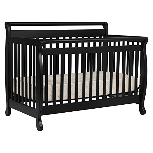 DaVinci Emily 4-in-1 Convertible Crib in Ebony Finish - Ebony Finish