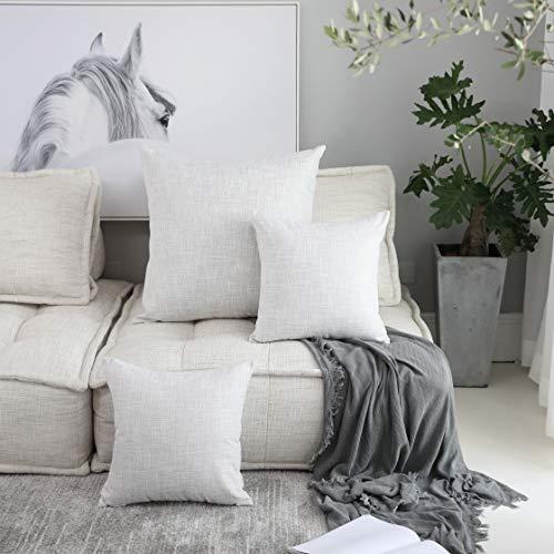 Kevin Textile Summer Decoration Linen Pillow Cover Square Eu