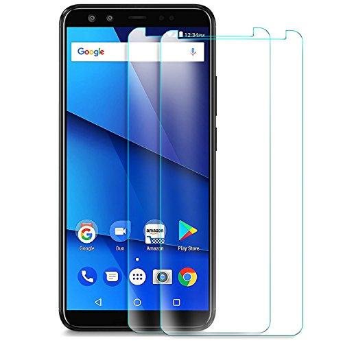 BLU VIVO X Screen Protector, KuGi 9H Hardness HD Clear Tempered Glass Screen Protector for BLU VIVO X Smartphone(2pack)