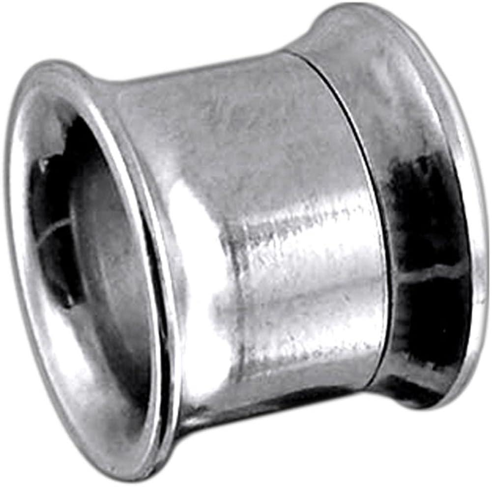 Piercing PLUG TUNNEL ÉCARTEUR À VIS ACIER CHIRURGICAL OREILLE STRETCHER 2mm//14mm