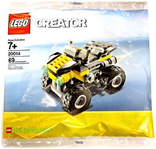 LEGO Creator Set #20014 Brickmaster Quad Bike (Bike Quad Lego)