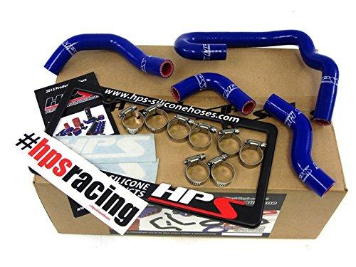 HPS 57-1323H-BLUE Blue Silicone Heater Hose Kit Coolant ()