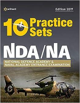 Buy 10 Practice Sets NDA/NA Defence Academy & Naval Academy