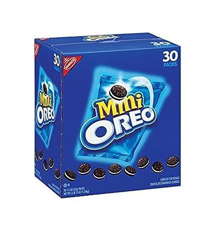 Nabisco Mini Oreo Cookies - 30/1.5 oz. packs (Bite Size Oreos)