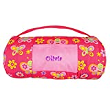 DIBSIES Personalization Station Personalized Toddler Nap Mats - Butterflies