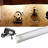 LEDUPDATES Under Cabinet Counter LED Light 24 inches with Touch on Off dim Switch for Work Shop, Pantry & Closet with UL Power Adapter Warm White