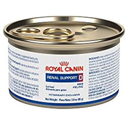 Royal Canin Veterinary Diet Renal Support D Morsels in Gravy Canned Cat Food 24/3 oz by Royal Canin