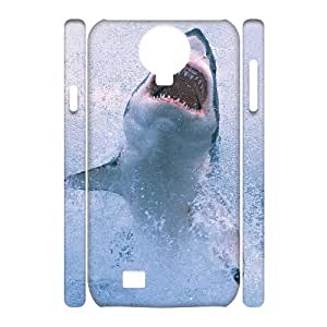 case Of Shark 3D Bumper Plastic Cell phone Case For Samsung Galaxy S4 i9500