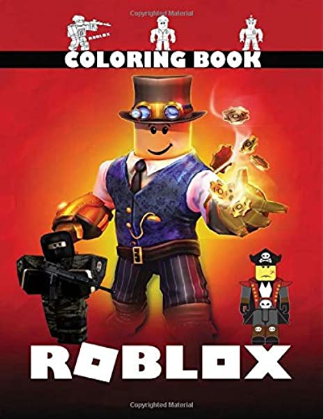 Roblox Coloring Book Perfect Gift For Your Kids Fan Of Roblox
