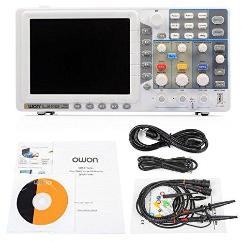 OWON LCD 800*600 Screen Digital Storage Oscilloscope SDS5052E 50M by OWON (Image #6)