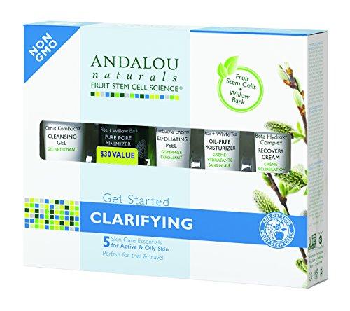 Andalou Naturals Get Started Clarifying Kit 5 Piece Kit