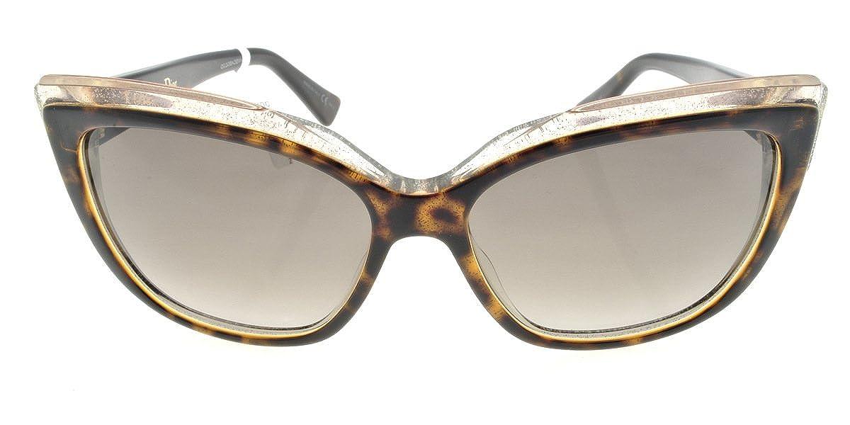 Amazon.com: Dior E59 Havana Glitter Glisten 2 gatos ojos ...