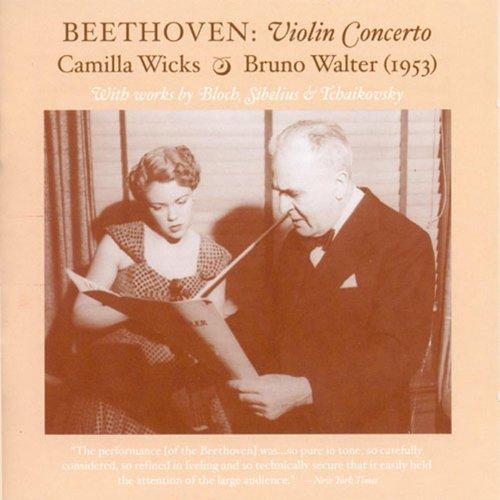 Van Wick (Violin Recital: Wicks, Camilla - Beethoven, L. Van / Bloch, E. / Sibelius, J. / Tchaikovsky, P.I. (The Art of Camilla Wicks) (1950, 1953))