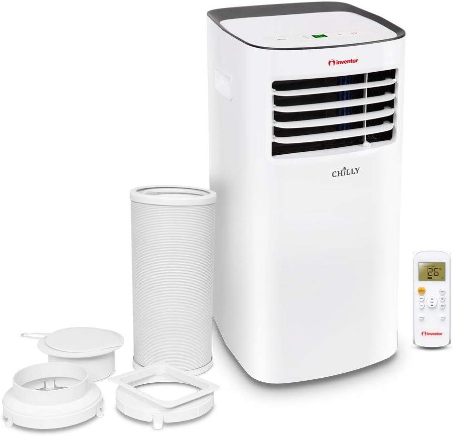 Mobiles Klimager/ät Inventor Chilly 9000 BTU 3 in 1: K/ühlung Entfeuchtung R290 K/ältemittel L/üftung 2 Jahre Garantie