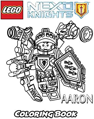 Lego Nexo Knights Coloring Book Coloring Book For Kids And Adults Activity Book With Fun Easy And Relaxing Coloring Pages Ivazewa Alexa Amazon Ae