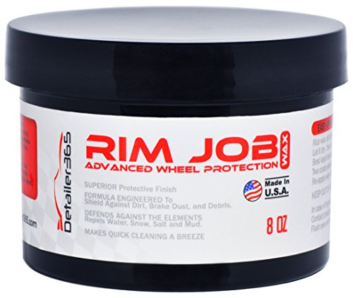 Detailer 365 Rim Job Wheel Wax Superior Protective Finish - - You Car Out Can Buff Scratches On