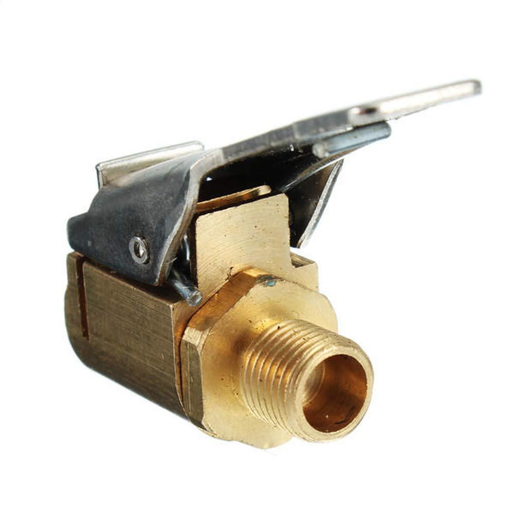 Raccord de valve de pneu en laiton 5//16 pour tuyau dal/ésage 8 mm COD