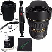 Nikon AF-S NIKKOR 14-24mm F2.8G ED Lens + Lens Cleaning Pen + Microfiber Cleaning Cloth + Lens Cap Keeper + SLR Lens Pouch Bundle