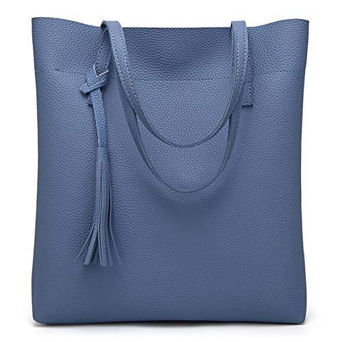 Bag Ym4315 moda 34 9 borsa Zhwei grande casual Pu elegante donna blu tracolla per borsa Messenger 30 centimetri FRxwxnq
