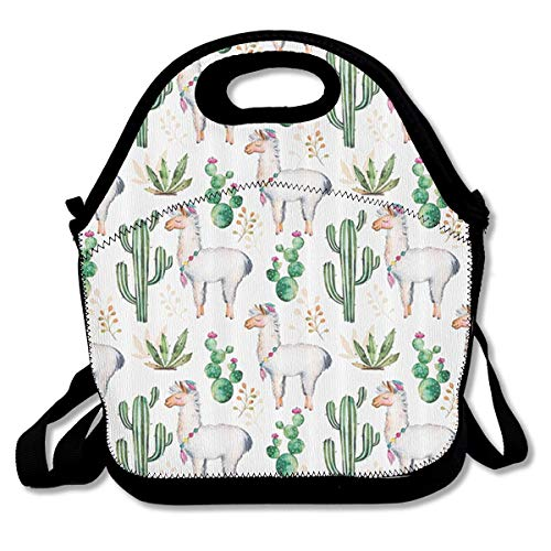 - Nopofjiobr SWDGYW36 Hot South Desert Plant Cactus Pattern with Camel Animal Lunch Bag Lunch Tote Lunch Pouch Handbag Made for Women, Men and Kids Handbag for School Office