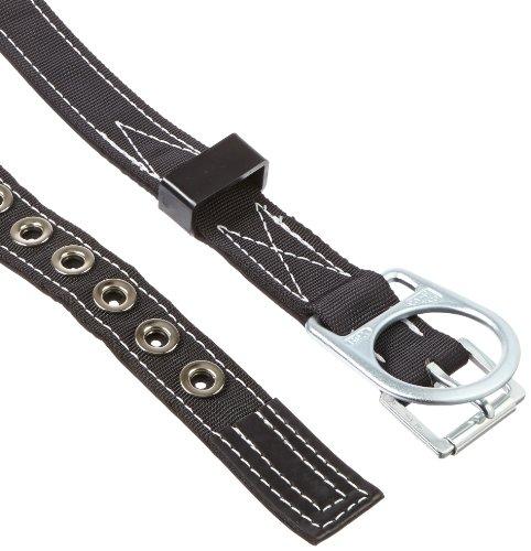 Miller by Honeywell 8644/XXLBK Single Front D-Ring Belt, XX-Large, Black (Sperian Miller Equipment)