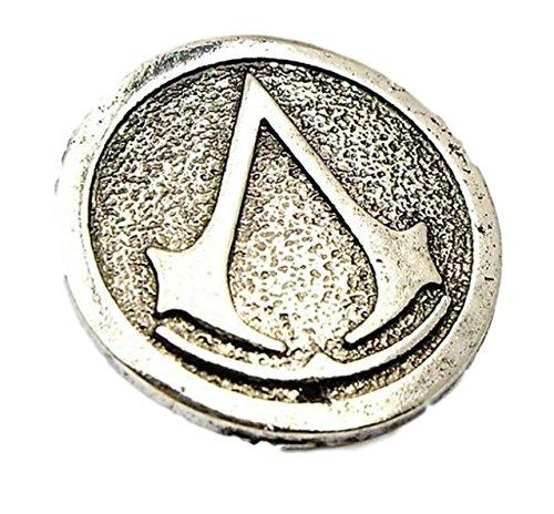 [Assassins Creed Movie Logo Metal Enamel Costume Pin] (Assassin Creed Movie Costume)