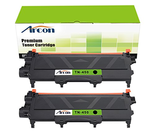 arcon-2pk-black-2600-pages-compatible-toner-cartridge-replacement-for-brother-tn450-tn-450-tn-450-us
