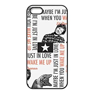 Cute cat and naughty boy Cell Phone Case for Iphone 5s