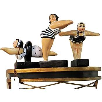 Amazon.com: Whimsical Bathing Beauty Retro Swimmer Statue ...