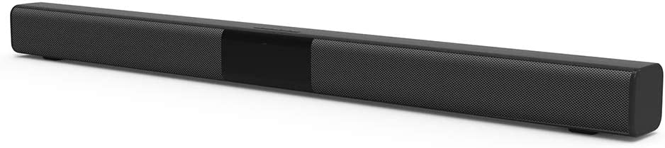 Sound Bar for TV, Soundbar with Built-in Subwoofer, Wired & Wireless Bluetooth Home Theater Stereo Speaker, 2.0 Channel Soundbars with Remote Control, Coaxial/Optical/Aux/RCA Connection
