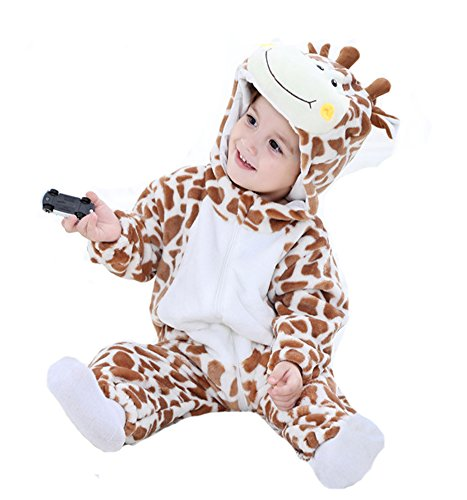 Tonwhar Inflant and Toddler Animal Onesie Cosplay Costume (90(Height:29