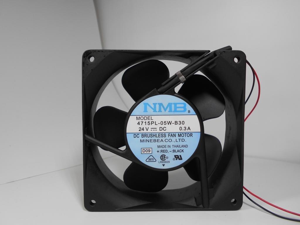 Nmb 4715pl 05 W B30 24 V 03 A 2 Fils 12038 12 Cm Ventilateur De