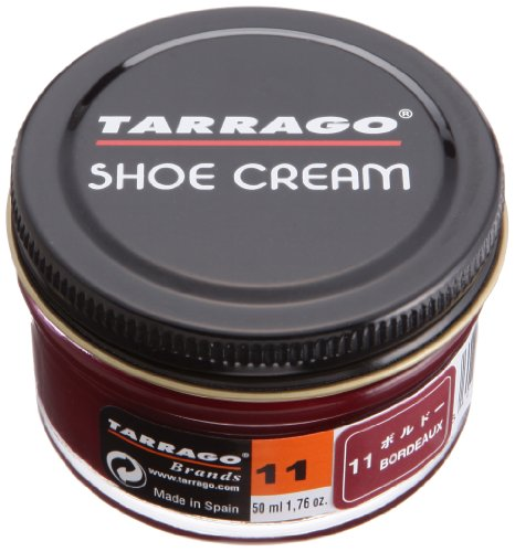Tarrago Shoecream Jar 50Ml. Bordeaux - Jar 50ml Cream