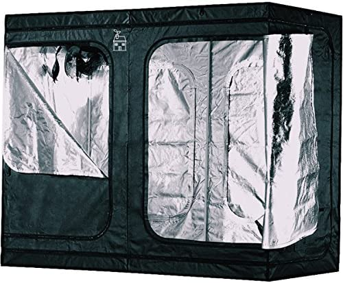 Plant House Compact Heavy Duty Hydroponic Indoor Plant Grow Tent Anti-Burst Zipper Technology Holds up to 110lbs from Ceiling 100 Lightproof Design Upgraded BoPET Film for 98 Reflectivity
