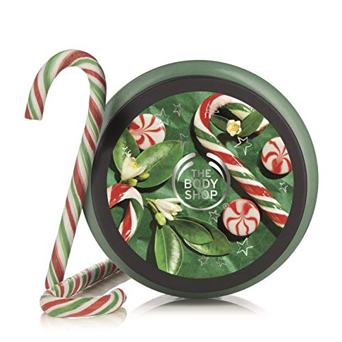 The Body Shop Peppermint Candy Cane Body Scrub, 8.4 Oz (Vegan)