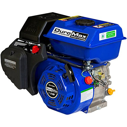 (DuroMax 7 Hp., 3/4 in. Shaft Recoil Start Engine )