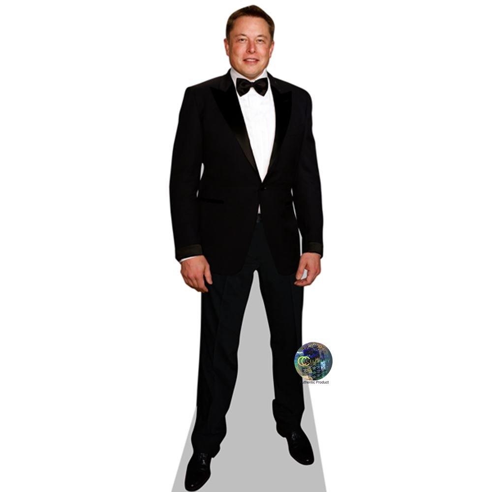 Celebrity Cutouts Elon Musk Pappaufsteller lebensgross