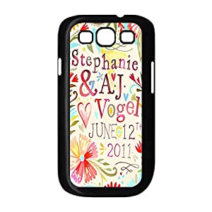 Designed Hard Case for Samsung Galaxy S3 I9300 Plastic Protective Case Cover with Bible Verse -Black20755