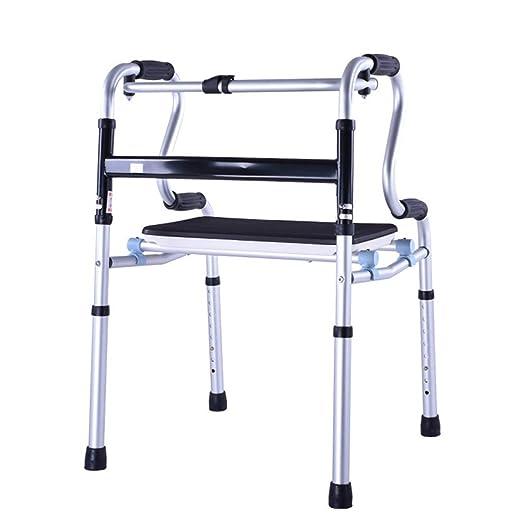 YX Andador plegable para personas mayores - Andadores adultos para ...