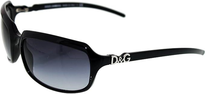 5d1dc965ec7 Image Unavailable. Image not available for. Colour  Dolce   Gabbana Women s  Gradient DD2192-338-62 Black Rectangle Sunglasses
