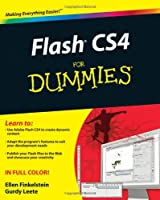 Flash CS4 For Dummies Front Cover